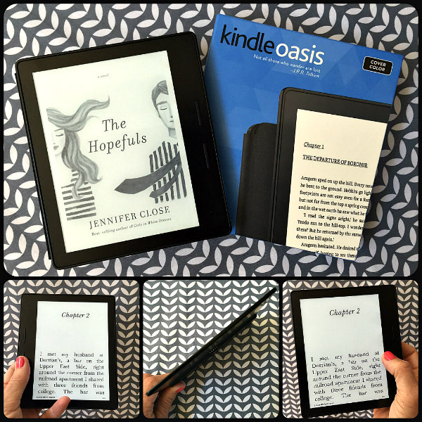 Kindle Oasis - A review of Amazon's latest e-reader.