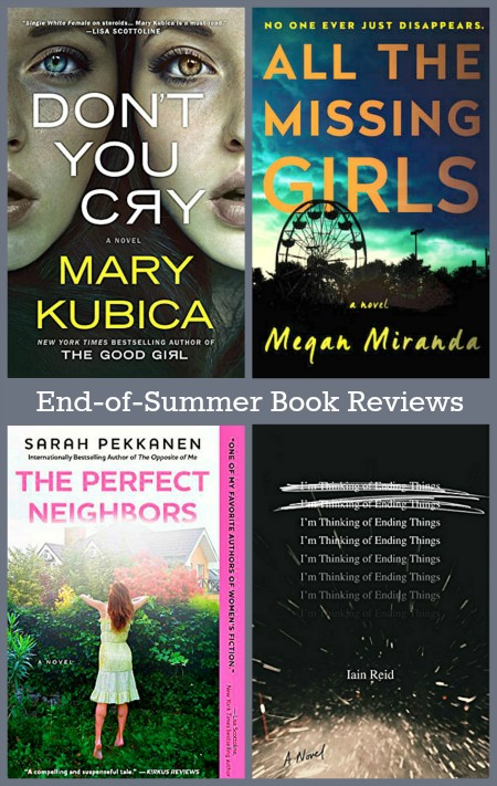 End-of-Summer Book Reviews - Four mini-reviews of books from the summer.