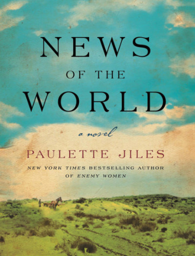 News of the World by Paulette Jiles - National Book Award finalist News of the World by Paulette Jiles is a rich story of a girl returned to her family after living with the Kiowa for 4 years.