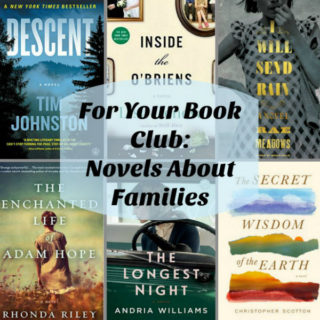 Collage of 10 novels about families