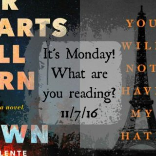 It's Monday! What are you reading? 11-7-16 | More
