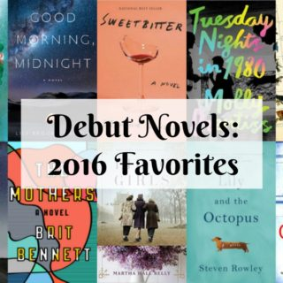 Favorite 2016 Debut Novels