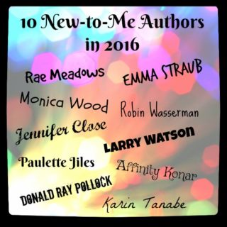 10 New-to-Me Authors