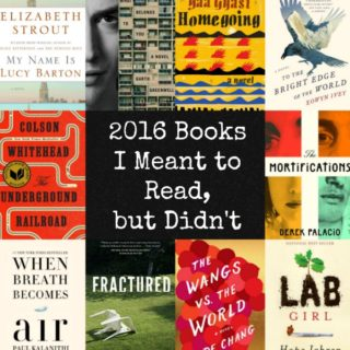 2016 Books I Meant to Read, But Didn't | Review