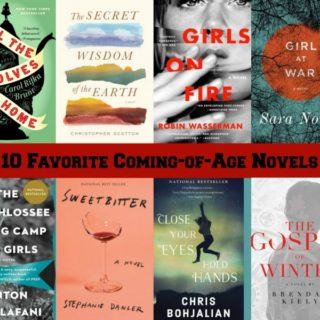 10 favorite Coming-of-Age Novel covers.