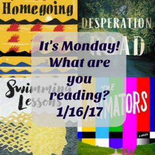 Collage of Books looked at for It's Monday! 1-161-7