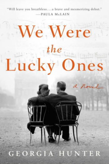We Were the Lucky Ones by Georgia Hunter - This  sweeping debut (based on the author's own family history) follows the Kurcs, Polish Jews, as they fight to survive WWII.