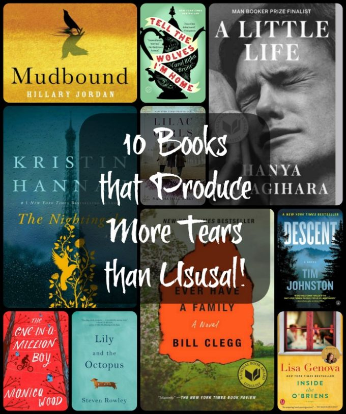 Books the Produce More Tears than Usual! - Ten well-loved books that will have you in tears.