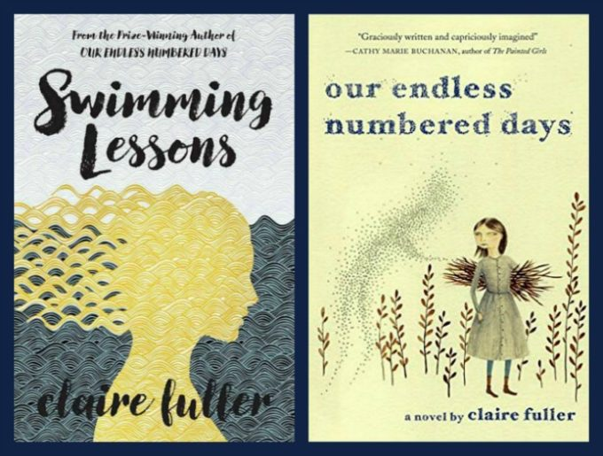 Swimming Lessons and Our Endless Numbered Days both by Claire Fuller - This review looks at similarities and differences between Fuller's two books.