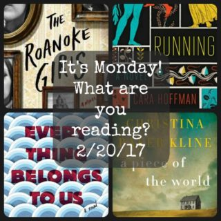 Collage of four books from It's Monday! What are you reading? 2-20-17