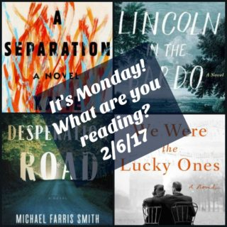 It's Monday! What are you reading? 2/6/17 | More
