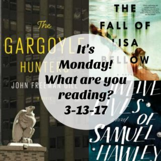 "Collage of books for ""It's Monday! What are you reading? 3-13-17"""
