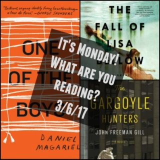 Collage of Books for It's Monday! 3-6-17