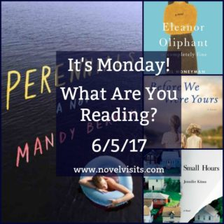 It's Monday! What Are You Reading? - A collage of books for 6-5-17.