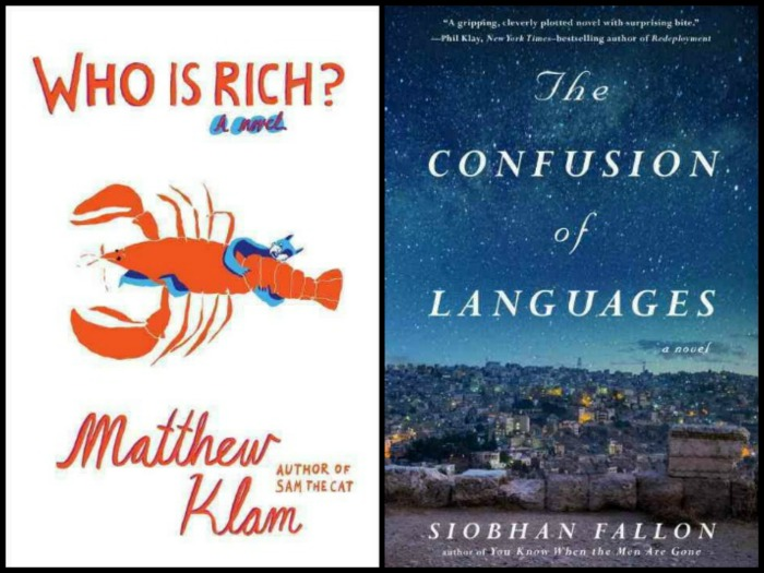 Who is Rich by Matthew Klam and The Confusion of Languages by Siobhan Fallon