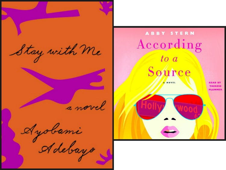 Stay With Me by Ayobami Adebayo and According to a Source by Abby Stern