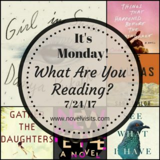 It's Monday! What Are You Reading? 7-24-17 - Novel Visits