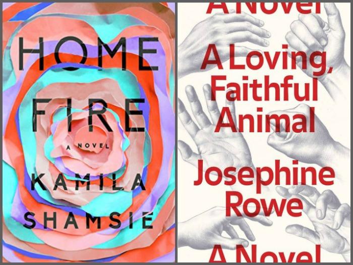 Home Fire by Kamila Shamsie and A Loving, Faithful Animal by Josephine Rowe