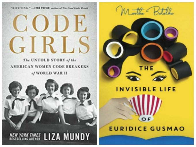 Code Girls by Liza Mundy and The Invisible Life of Euridice Gusmao