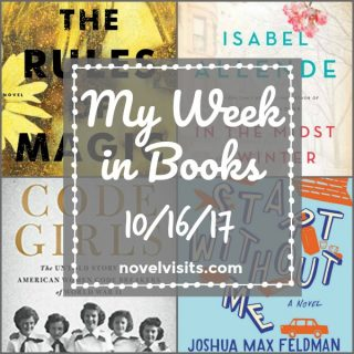 My Week in Books 10-16-17