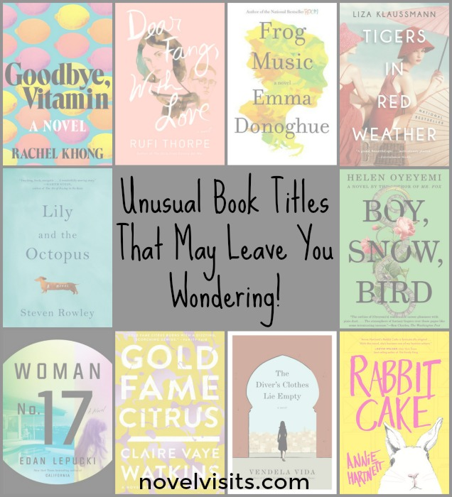 Unusual Book Titles that May Leave you Wondering! - Judging a book by its cover may be ill advised, but by its unique title? Those are harder to resist.Ten books I was lured into reading by their very clever titles.