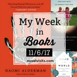 My Week in Books for 11/6/17 on Novel Visits