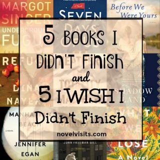 5 Books I Didn't Finish and 5 I WISH I Didn't Finish | More