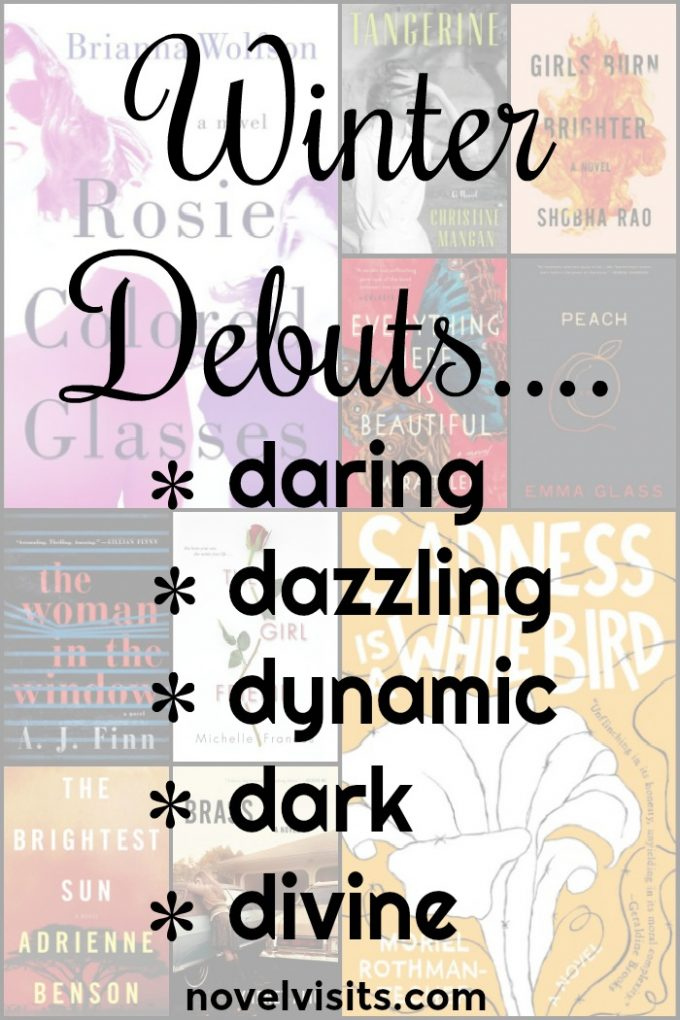 Novel Visits - Winter Debuts...Daring, Dazzling, Dynamic, Dark, Divine