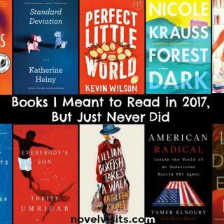 Novel Visits: Books I Meant to Read in 2017, But Just Never Did