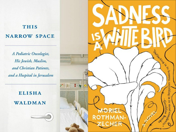 This Narrow Space by Elisha Waldman and Sadness is a White Bird by Moriel Rothman-Zecher