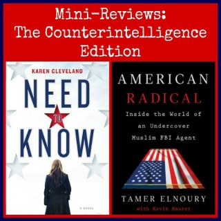 Novel Visits Mini-Reviews: The Counterintelligence Edition - Need to Know by Karen Cleveland and American Radical by Tamer Elnoury