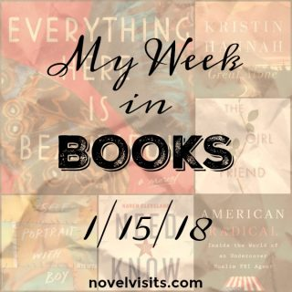 Novel Visits - Monday Update: My Week in Books 1-15-18