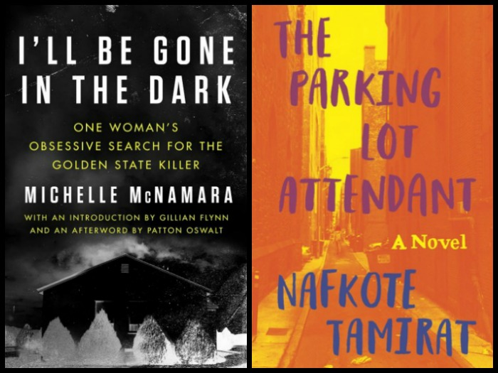 Novel Visits My Week in Books for 3/12/18 (Currently Reading) - I'll Be Gone in the Dark by Michelle McNamara and The Parking Lot Attendant by Nafkote Tamirat