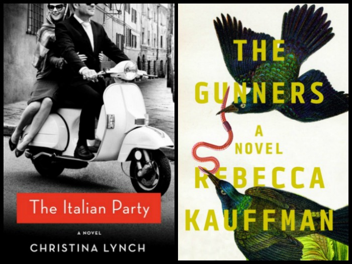 Novel Visits My Week in Books for 3/12/18 (Last Week's Reads) - The Italian Party by Christina Lynch and The Gunners by Rebecca Kauffman