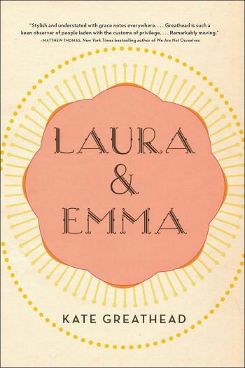 Novel Visits Review: Laura & Emma by Kate Greathead - It's 1981 when quirky, single Laura finds herself unexpectedly pregnant and with indomitable spirit brings Emma into her world.