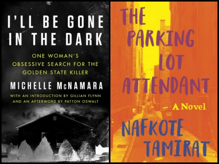 Novel Visits: Likely to Read Next for 3/5/18 - I'll Be Gone in the Dark by Michelle McNamara and The Parking Lot Attendant by Nafkote Tamirat