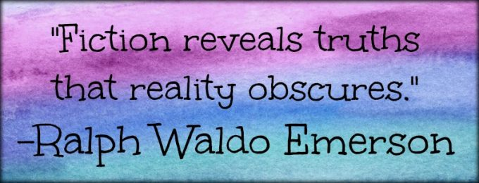 "Novel Visits: My Favorite Bookish Quotes - ""Fiction reveals truths that reality obscures."" - Ralph Waldo Emerson"