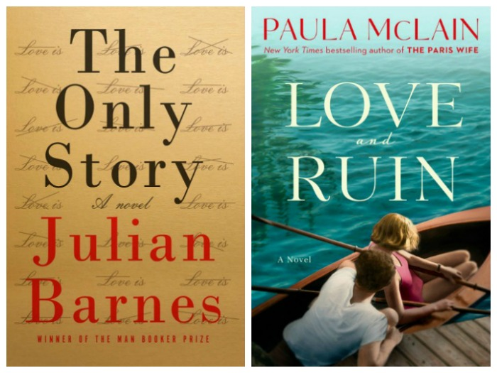 Novel Visits's My Week in Books for 4/23/18: Currently Reading - The Only Story by Julian Barnes and Love and Ruin by Paula McLain