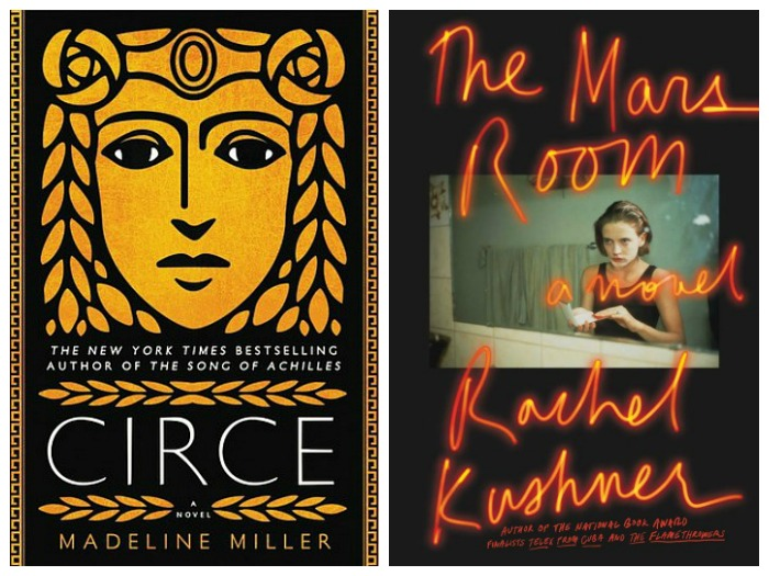 Novel Visits's My Week in Books for 4/23/18: Last Week's Reads - Circe by Madeline Miller and The Mars Room by Rachel Kushner
