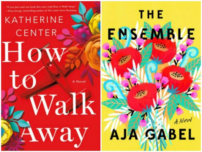 Novel Visits My Week in Books for 5/21/18: Currently Reading - How to Walk Away by Catherine Center and The Ensemble by Aja Gabel