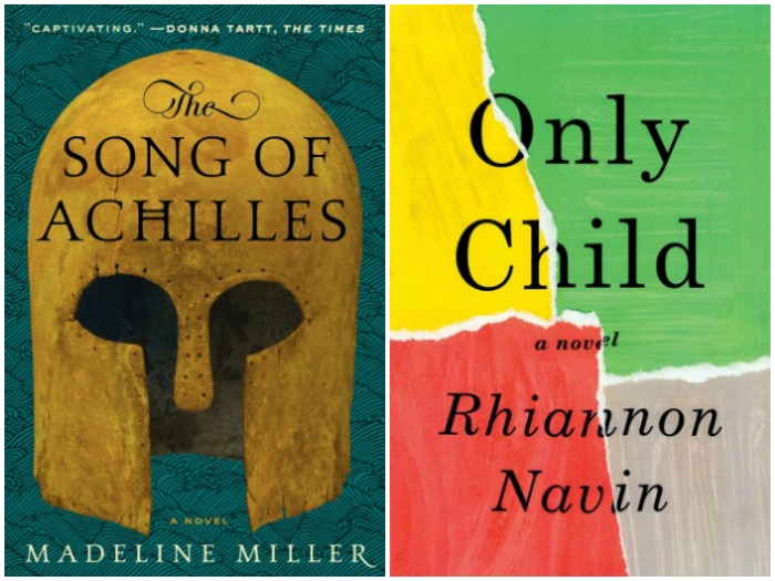 Novel Visits My Week in Books for 5/21/18: Last Week's Reads - The Song of Achilles by Madeline Miller and Only Child by Rhiannon Navin