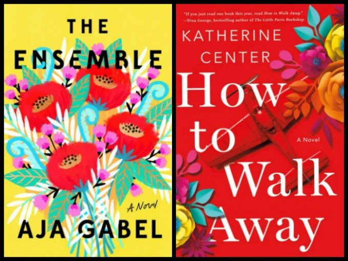 Novel Visits's My Week in Books for 5/28/18: Last Week's Reads - The Ensemble by Aja Gabel and How to Walk Away by Katherine Center