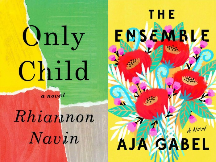 Novel Visits My Week in Books for 5/7/18: Likely to Read Next - Only Child by Rhiannon Navin and The Ensemble by Aja Gabel.