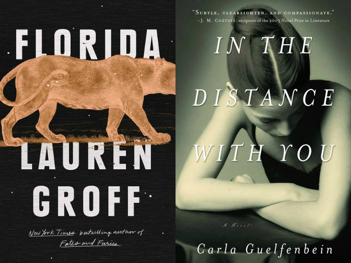 Novel Visits's My Week in Books for 5/14/18: Likely to Read Next - Florida by Lauren Groff and In the Distance with You by Carla Guelfenbein