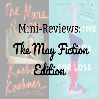 Novel Visits Mini-Reviews: The May Fiction Edition - The Mars Room by Rachel Kushner and Alternative Remedies to Loss by Joanna Cantor