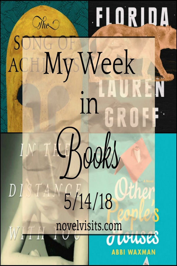 Novel Visits's Monday Update: My Week in Books for 5/14/18 - A look back at the last week including books completed, my current read, and what's up next for Novel Visits.