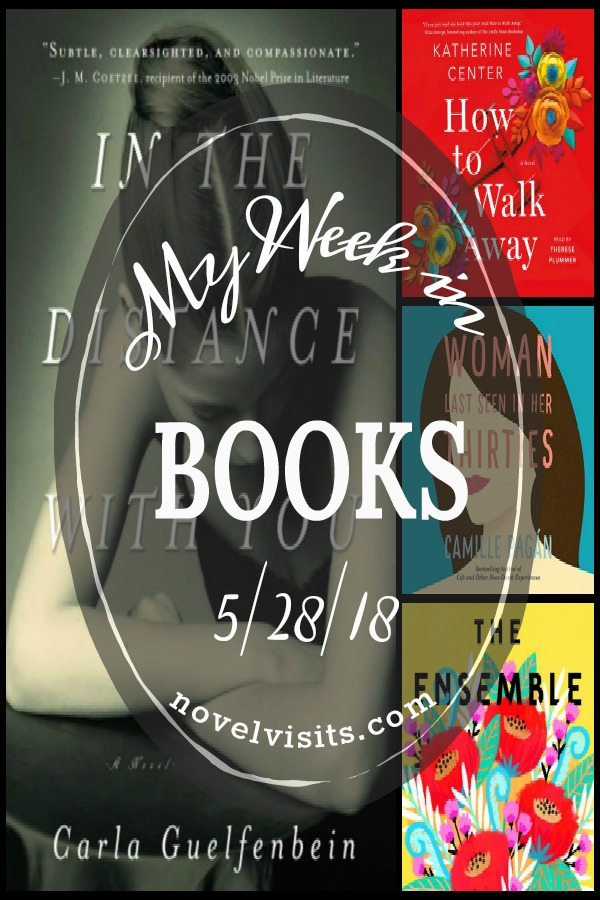 My Week in Books for Memorial Day 2018! Books completed, what I'm currently reading and a look at what's up next.