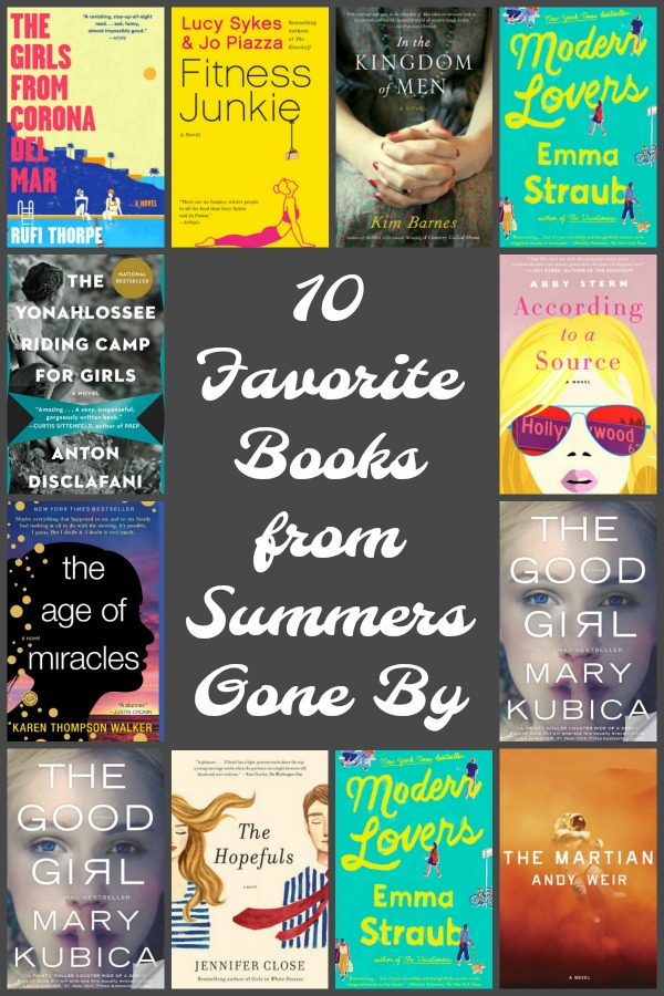 There's just something about reading in the summer! With summer reads I can always remember precisely where I was as I read a book I loved.