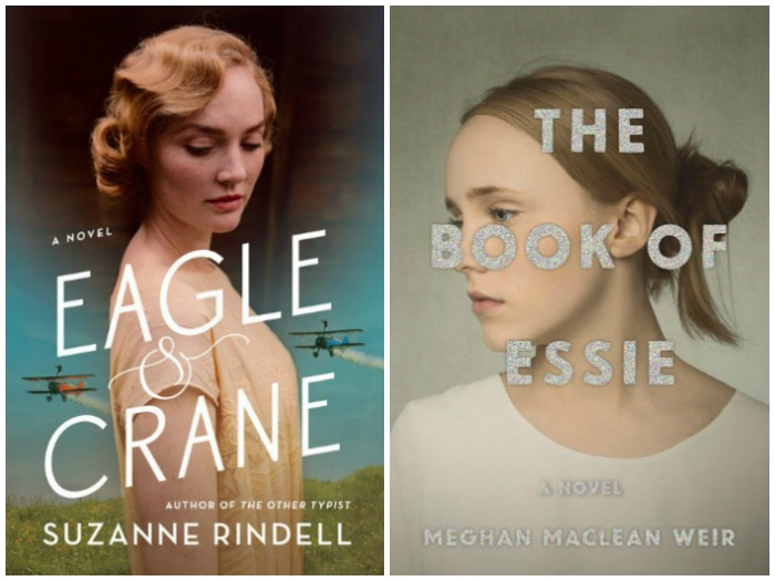 Novel Visits's My Week in Books for 6/18/18: Currently Reading - Eagle & Crane by Suzanne Rindell and The Book of Essie by Meghan MacLean Weir