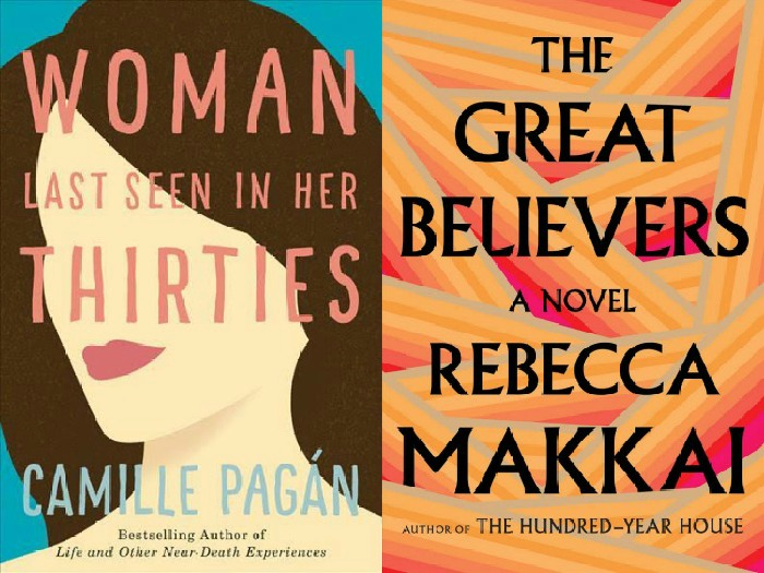 Novel Visits My Week in Books for 6/4/18: Currently Reading: Woman Last Seen in Her Thirties by Camille Pagan and The Great Believers by Rebecca Makkai